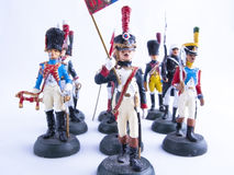 Tin soldier Royalty Free Stock Photography