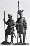 Tin Soldiers Royalty Free Stock Photography