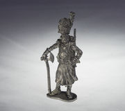Tin soldiers royalty free stock image