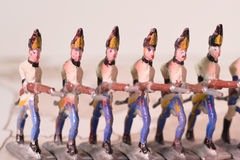 Tin soldiers Royalty Free Stock Photos