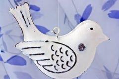 metal  bird decoration Stock Photography