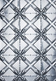 Tin Stamped Metal Background Stock Photo