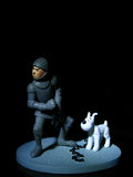 Tin Tin in Armour Stock Image