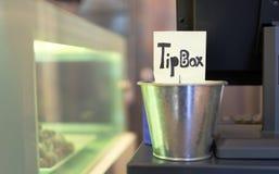 Tin tip box royalty free stock image