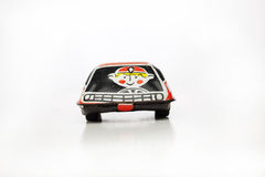 Tin toy car racer stock photos
