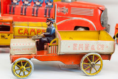 Tin toy cars Stock Photography