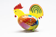 Tin Toy Chicken Stock Images