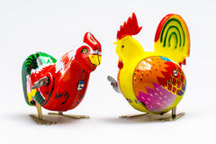 Tin Toy Chicken Royalty Free Stock Photography