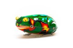 Tin Toy Frog Royalty Free Stock Photo