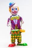 Tin Toy Joker Stock Photo