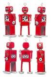 Tin Toy Robot Photo stock
