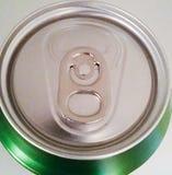 Tin van drank stock fotografie