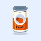 Tin Vector illustration Royalty Free Stock Photography