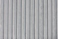 Tin Wall Abstract ondulé Photographie stock