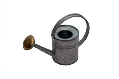 Tin Water Can Image contains a Clipping Path / Cut Royalty Free Stock Photos