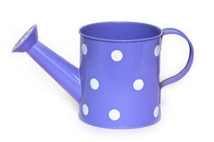 The tin watering can. Royalty Free Stock Photos