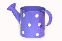 The tin watering can. Royalty Free Stock Images