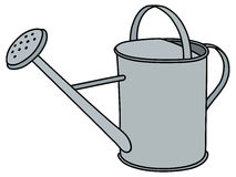 Tin watering can Royalty Free Stock Image