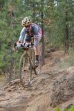 Tina Brubaker - Professional Cyclist Stock Images