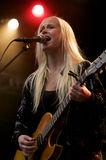 Tina Dickow (Tina Dico) Royalty Free Stock Images