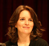 Tina Fey at Awards Ceremony Royalty Free Stock Image