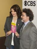 Tina Fey e Jeff Richmond immagine stock libera da diritti