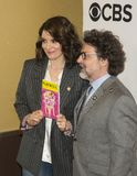 Tina Fey und Jeff Richmond Lizenzfreies Stockbild