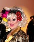 Tina Glamor, DragQueen aus Στουτγάρδη, Travestie στοκ εικόνες