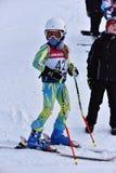Tina Sutton Memorial - eslalom Ski Competition Imagenes de archivo