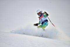 Tina Sutton Memorial - eslalom Ski Competition Imágenes de archivo libres de regalías