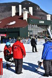 Tina Sutton Memorial - eslalom Ski Competition Imagen de archivo