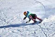 Tina Sutton Memorial - slalom Ski Competition Imagens de Stock