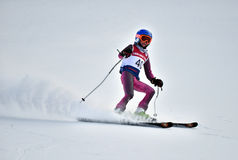 Tina Sutton Memorial - Slalom Ski Competition Royalty Free Stock Image