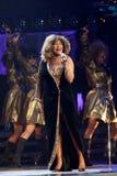 Tina Turner sous tension à Montréal Image libre de droits