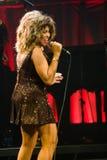 Tina Turner in tensione a Montreal Fotografie Stock Libere da Diritti