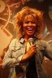 Tina Turner Wax Figure Stock Photo