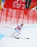Tina Weirather sur la coupe du monde alpestre de ski de FIS Photo stock