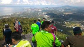 Tinagat Hill at Tawau, Sabah, Malaysia. Tinagat Hill or also known as Bukit Pacang Tinagat, or Bukit Kinabutan located in Tawau, Sabah between the highest hill stock image