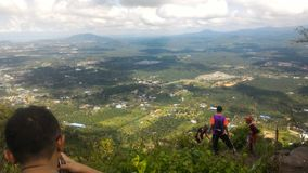 Tinagat wzgórze przy Tawau, Sabah, Malezja obrazy royalty free