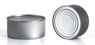 Tincan conserva, alimento inscatolato, metallo Tin Can Fotografia Stock