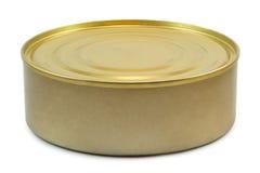 Tincan isolated. On white background Royalty Free Stock Photos