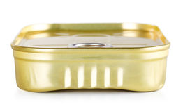 Tincan With Key Stock Photography