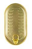 Tincan Z kluczem Zdjęcie Stock