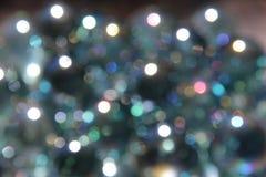 Étincelles avec Gray Background bleu Photos libres de droits