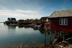 Tind dans Lofoten Images stock