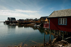 Tind in Lofoten Stock Images