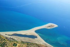 Tindari海滩  图库摄影