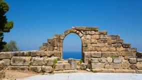 TINDARI grka THEATRE zdjęcie stock