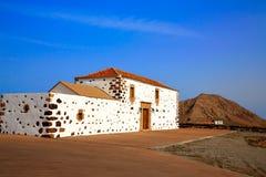 Tindaya Fuerteventura bij Canarische Eilanden royalty-vrije stock foto's