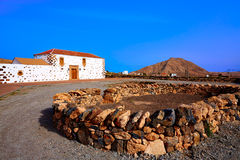 Tindaya Fuerteventura at Canary Islands Royalty Free Stock Images